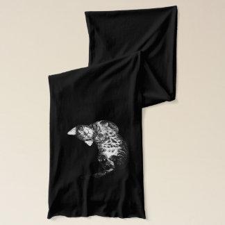 眠い猫 スカーフ