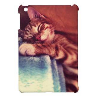 眠い猫 iPad MINIケース