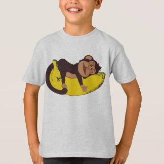 眠い猿 Tシャツ