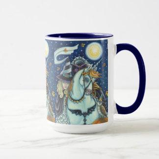 眠い空の信号器のマグの魔法使い マグカップ