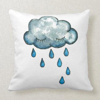 眠い雲の子供の枕 クッション