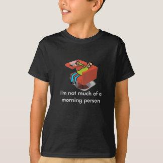 眠い頭部 Tシャツ