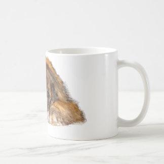 眠いLeonberger コーヒーマグカップ