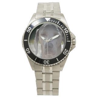 眠いWeimaraner 腕時計