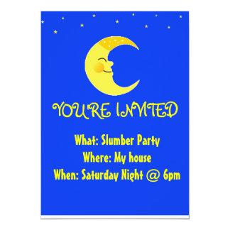 眠りのパーティの招待状 カード