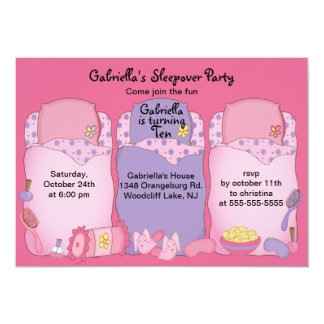 眠りの誕生会 カード