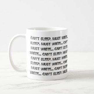 眠ることができませんでしたりコーヒー・マグを書かなければなりません コーヒーマグカップ