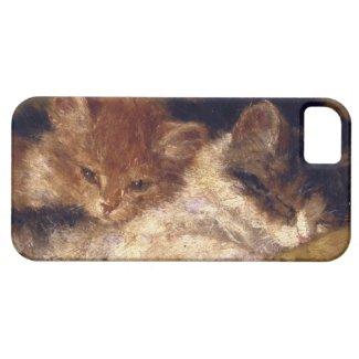 眠る子猫 iPhone 5 CASE