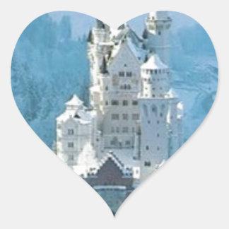 眠れる森の美女の城 ハートシール