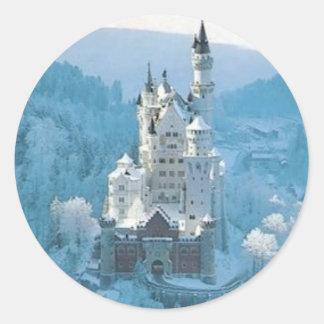 眠れる森の美女の城 ラウンドシール