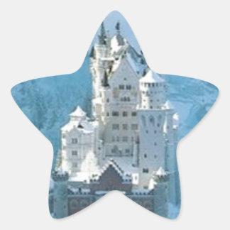 眠れる森の美女の城 星シール