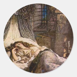 眠れる森の美女 ラウンドシール