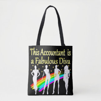 眩ます会計士の花型女性歌手のデザイン トートバッグ
