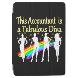 眩ます会計士の花型女性歌手のデザイン iPad AIR カバー
