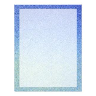 眩ます青くグラデーションなグリッターの砂の一見の暗闇ライト チラシ