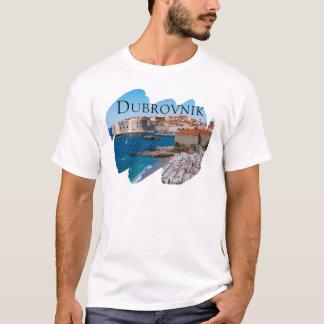 眺めのドゥブロブニク Tシャツ