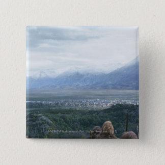 眺めのミナスTirith 5.1cm 正方形バッジ