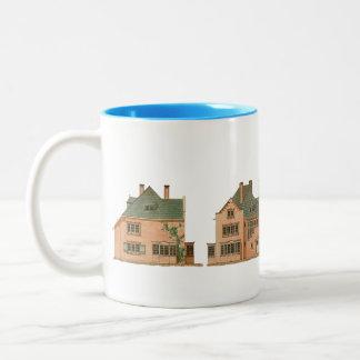 眺めの家の建築アールヌーボー1月Stuyt ツートーンマグカップ