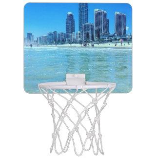 眺めの小型バスケットボールのゴール ミニバスケットボールネット