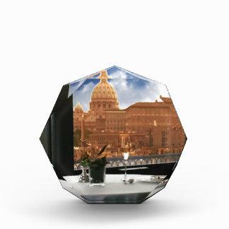 眺めの装飾的な写真の都市livinの部屋 表彰盾