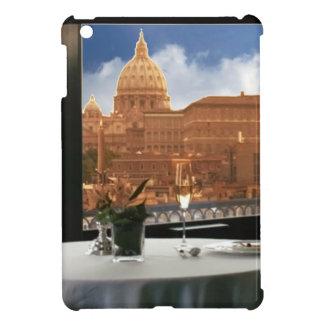眺めの装飾的な写真の都市livinの部屋 iPad miniケース