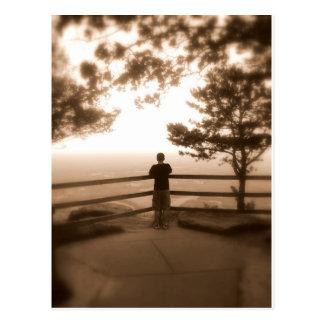 眺望のブルーリッジ山脈 ポストカード
