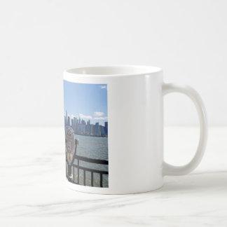 眺望マンハッタン コーヒーマグカップ