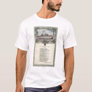 眺望山、コロラド州 Tシャツ