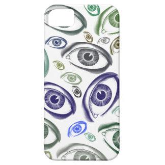 眼状斑のiPhoneの場合 iPhone SE/5/5s ケース