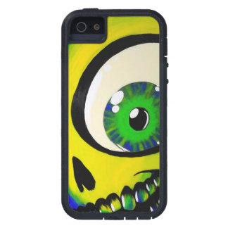 眼球のスカルのIPhone 5の堅く極度な電話箱 iPhone 5 Cover