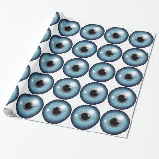 眼球のデザイン ラッピングペーパー