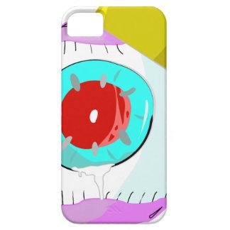 眼球の赤い目王 iPhone SE/5/5s ケース