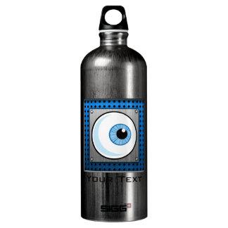 眼球; 金属一見 ウォーターボトル