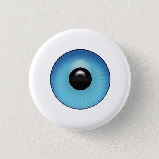 眼球 3.2CM 丸型バッジ