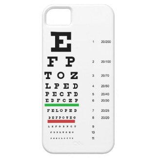 眼科医のためのSnellenの目の視野の図表 iPhone SE/5/5s ケース