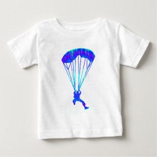 着実の空の飛び込み ベビーTシャツ