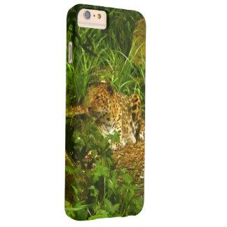 着席のヒョウの写真のイメージ BARELY THERE iPhone 6 PLUS ケース