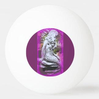 着席の人魚のピンポン球 卓球ボール