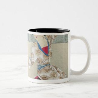 着服朝で ツートーンマグカップ