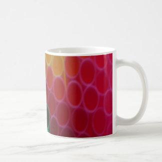 着色されたわら コーヒーマグカップ