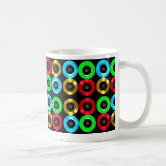 着色されたビニールの生命! コーヒー・マグ コーヒーマグカップ