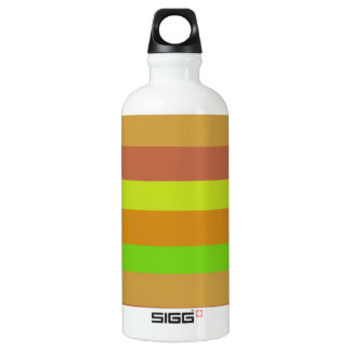着色されたブロックの芸術 ウォーターボトル
