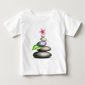 着色された小石 ベビーTシャツ