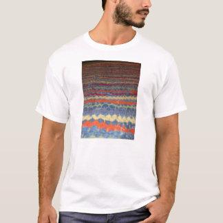 着色された生地およびデニム Tシャツ