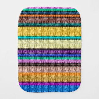着色された編み物のストライプ継ぎ目が無いパターン1 バープクロス