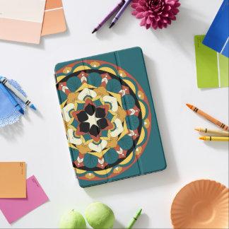 着色された花の曼荼羅060517_4 iPad PROカバー
