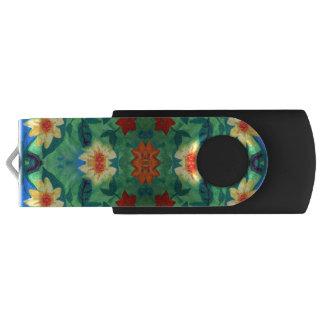 着色された花USBのフラッシュドライブ USBフラッシュドライブ