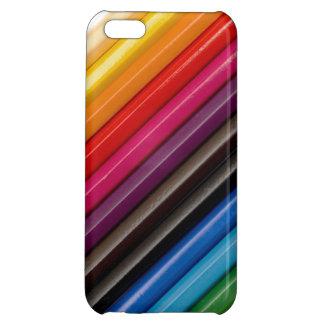 着色された鉛筆のiPhoneカバー iPhone5Cカバー