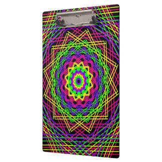 着色されたStixの芸術のクリップボード クリップボード