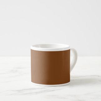 着色されるあずき色の上限の固体 エスプレッソカップ